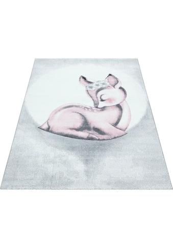 Kinderteppich, »Bambi 850«, Ayyildiz, rechteckig, Höhe 11 mm, maschinell gewebt kaufen
