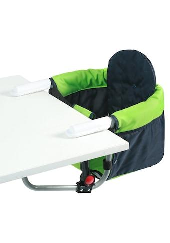 CHIC4BABY Tischsitz »Relax green/navy«, mit universellem Befestigungssystem kaufen