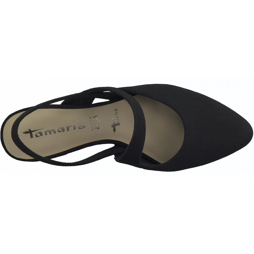 Tamaris Slingpumps, mit Touch It-Ausstattung
