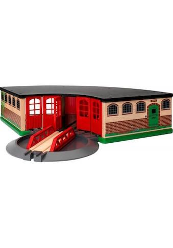 BRIO® Spielzeugeisenbahn-Gebäude »BRIO® WORLD Grosser Ringlokschuppen« kaufen