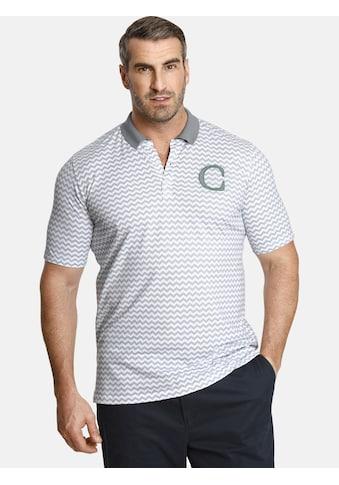 Charles Colby Poloshirt »EARL KYLAR«, markante CC-Logo Stickerei kaufen