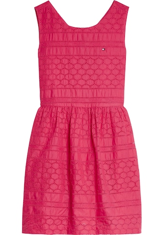 TOMMY HILFIGER Trägerkleid »BRODERIE ANGLAISE DRESS« kaufen