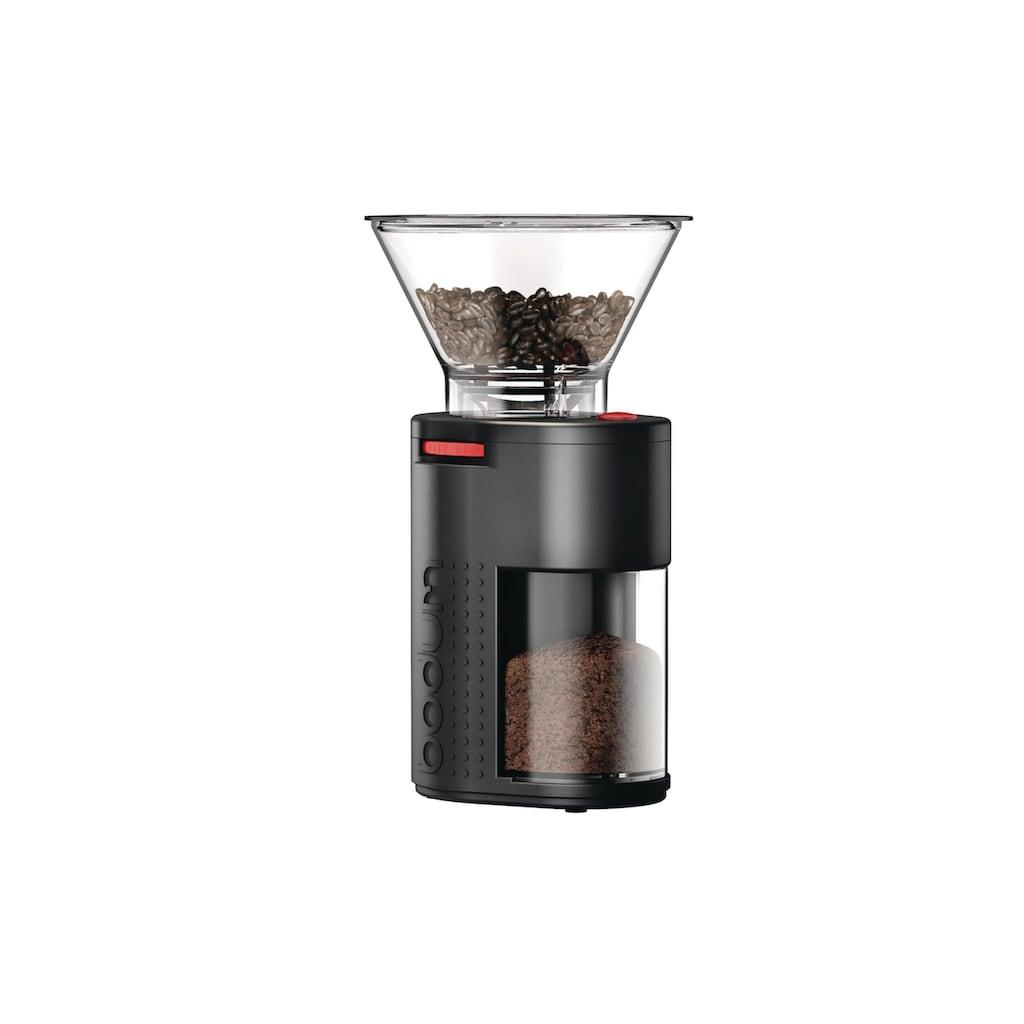 Bodum Kaffeemühle »Bistro«, Kegelmahlwerk, 220 g Bohnenbehälter