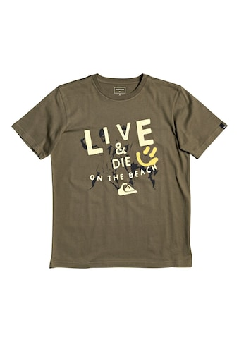 Quiksilver T - Shirt »Illusions Of Order« kaufen