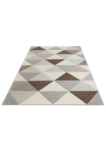 Bruno Banani Teppich »Berlad«, rechteckig, 13 mm Höhe, Handgearbeitet,... kaufen