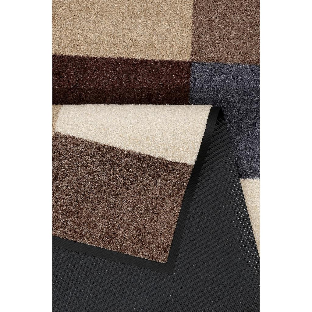 wash+dry by Kleen-Tex Läufer »@kitchen brownish«, rechteckig, 7 mm Höhe, In- und Outdoor geeignet, waschbar
