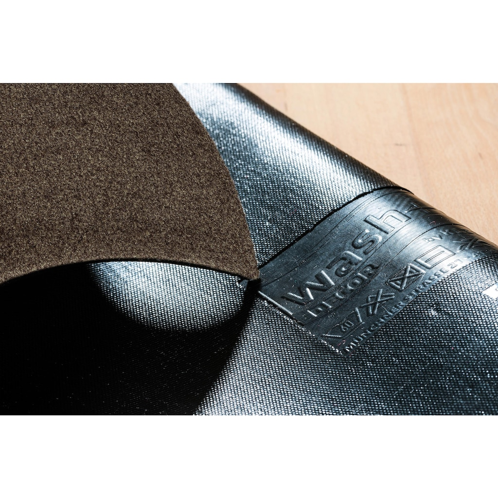 wash+dry by Kleen-Tex Fussmatte »PURE«, rechteckig, 9 mm Höhe, Schmutzfangmatte, In- und Outdoor geeignet, waschbar