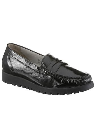 Waldläufer Slipper »HEGLI«, aus Lackleder, in komfortabler Schuhweite H kaufen