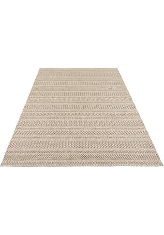 ELLE Decor Teppich »Arras«, rechteckig, 8 mm Höhe, Flachgewebe, In- und Outdoor geeignet, Wohnzimmer kaufen