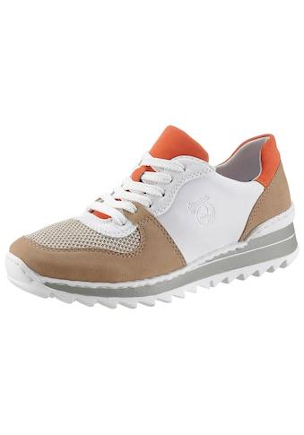 Rieker Keilsneaker, im Materialmix kaufen