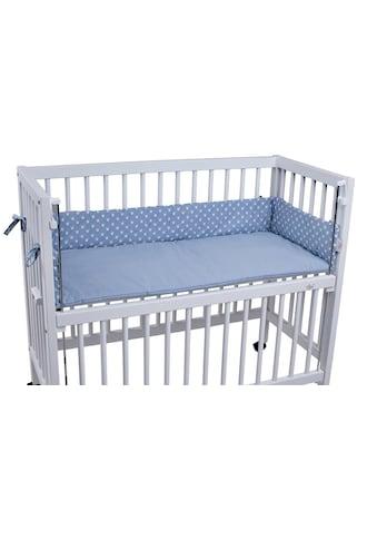 tiSsi® Bettnestchen »Kronen blau«, passend für das tiSsi® Beistellbett kaufen