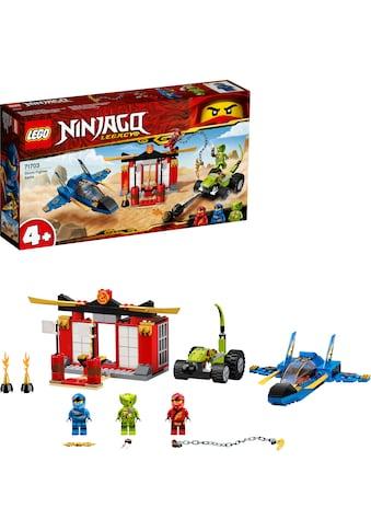 LEGO® Konstruktionsspielsteine »Kräftemessen mit dem Donner-Jet (71703), LEGO®... kaufen