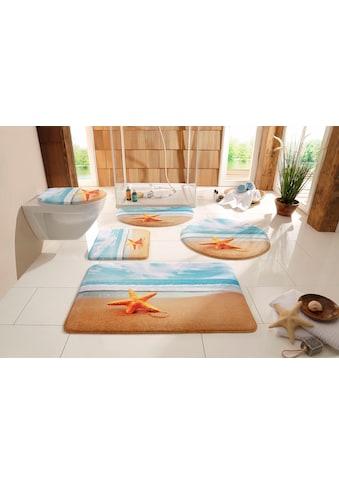 my home Badematte »Seestern«, Höhe 14 mm, rutschhemmend beschichtet,... kaufen
