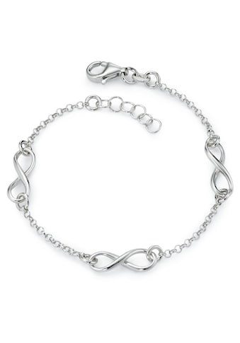 Armband Silberfarben Infinity 19 cm verstellbar kaufen