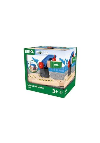 BRIO® Spielzeugeisenbahn-Erweiterung »BRIO® WORLD Eisenbahn-Magnetkran« kaufen