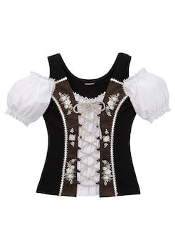 a9b5d9c00bb8d6 Stockerpoint Trachtenshirt Damen mit Carmenausschnitt kaufen