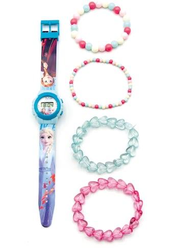 Joy Toy Digitaluhr »Disney Eiskönigin, 20750«, (Packung, 5 tlg., LCD Uhr mit 4... kaufen