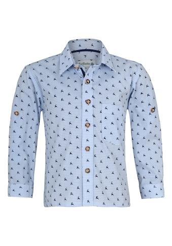 Isar-Trachten Trachtenhemd, mit Knöpfen in Hornoptik kaufen