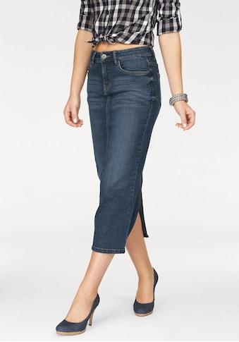 Arizona Jeansrock, in angesagter Midiform kaufen