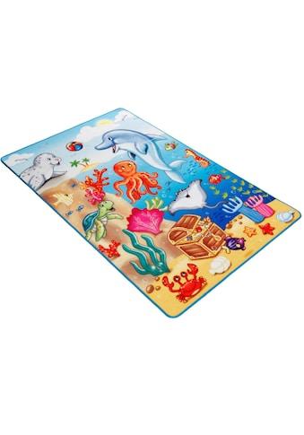 Böing Carpet Fussmatte »Lovely Kids LK-7«, rechteckig, 2 mm Höhe, Schmutzfangmatte,... kaufen