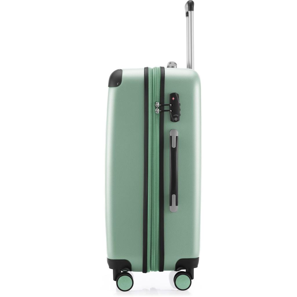 Hauptstadtkoffer Hartschalen-Trolley »Spree, 75 cm, mint«, 4 Rollen