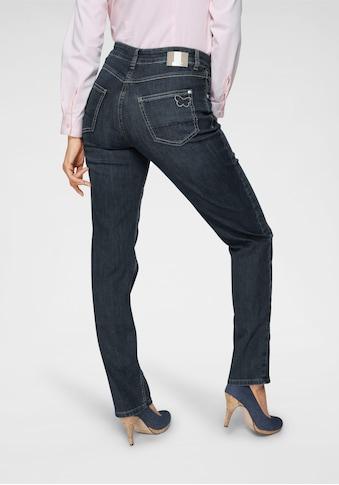 MAC 5-Pocket-Jeans »Melanie-Butterfly«, Mit Glitzernieten kaufen