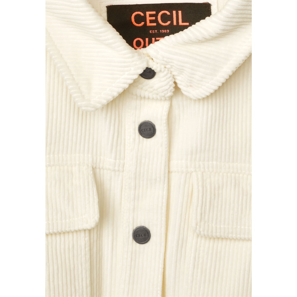 Cecil Cordjacke, aus reiner Baumwolle