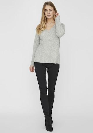 Vero Moda V-Ausschnitt-Pullover »VMCREWLEFILE«   Jelmoli ...