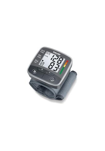BEURER Handgelenk-Blutdruckmessgerät »BC32«, Abschaltautomatik, Arrhythmie-Erkennung,... kaufen