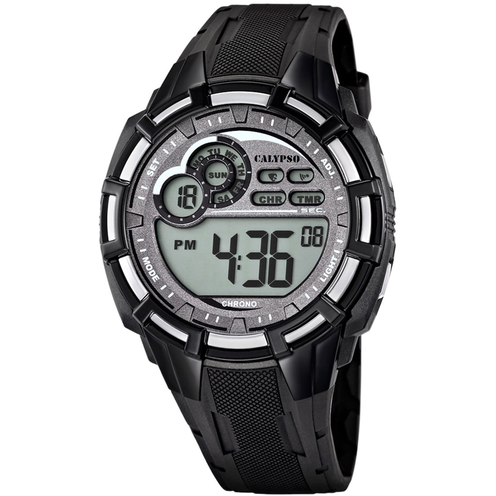 CALYPSO WATCHES Chronograph »Digital For Man, K5625/1«