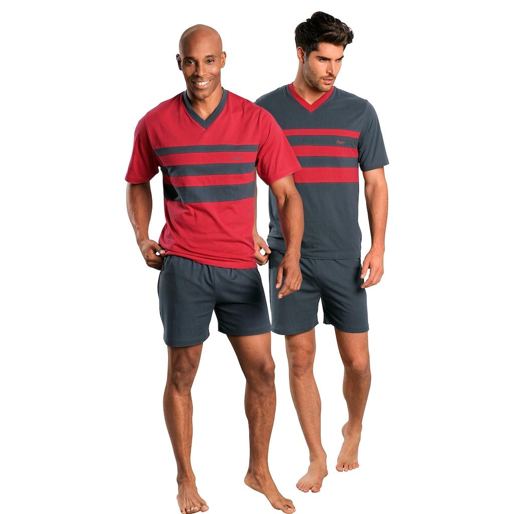 le jogger® Shorty, mit Colourblocks