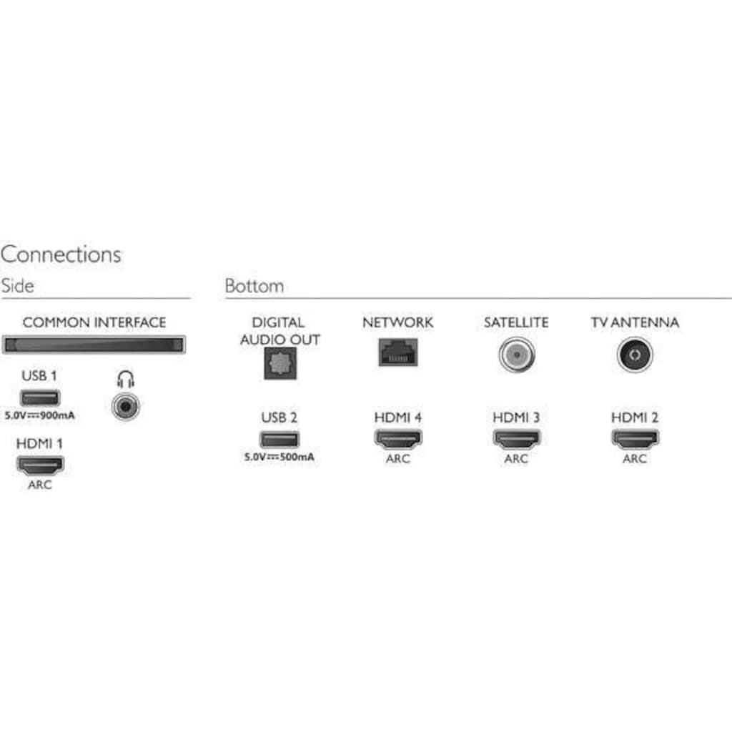 "Philips LED-Fernseher »43PUS9235/12«, 108 cm/43 "", 4K Ultra HD, Smart-TV"