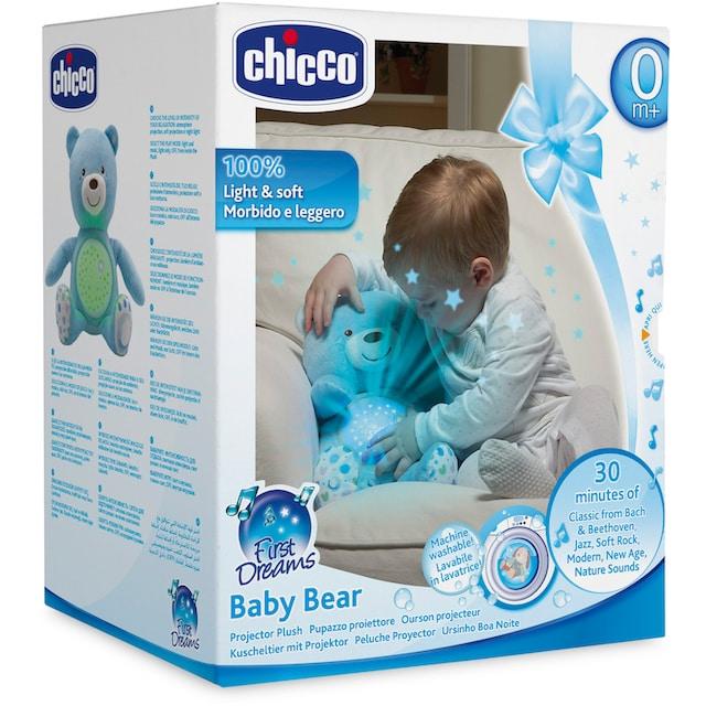 """Chicco Kuscheltier """"First Dreams Baby Bär, Hellblau"""""""