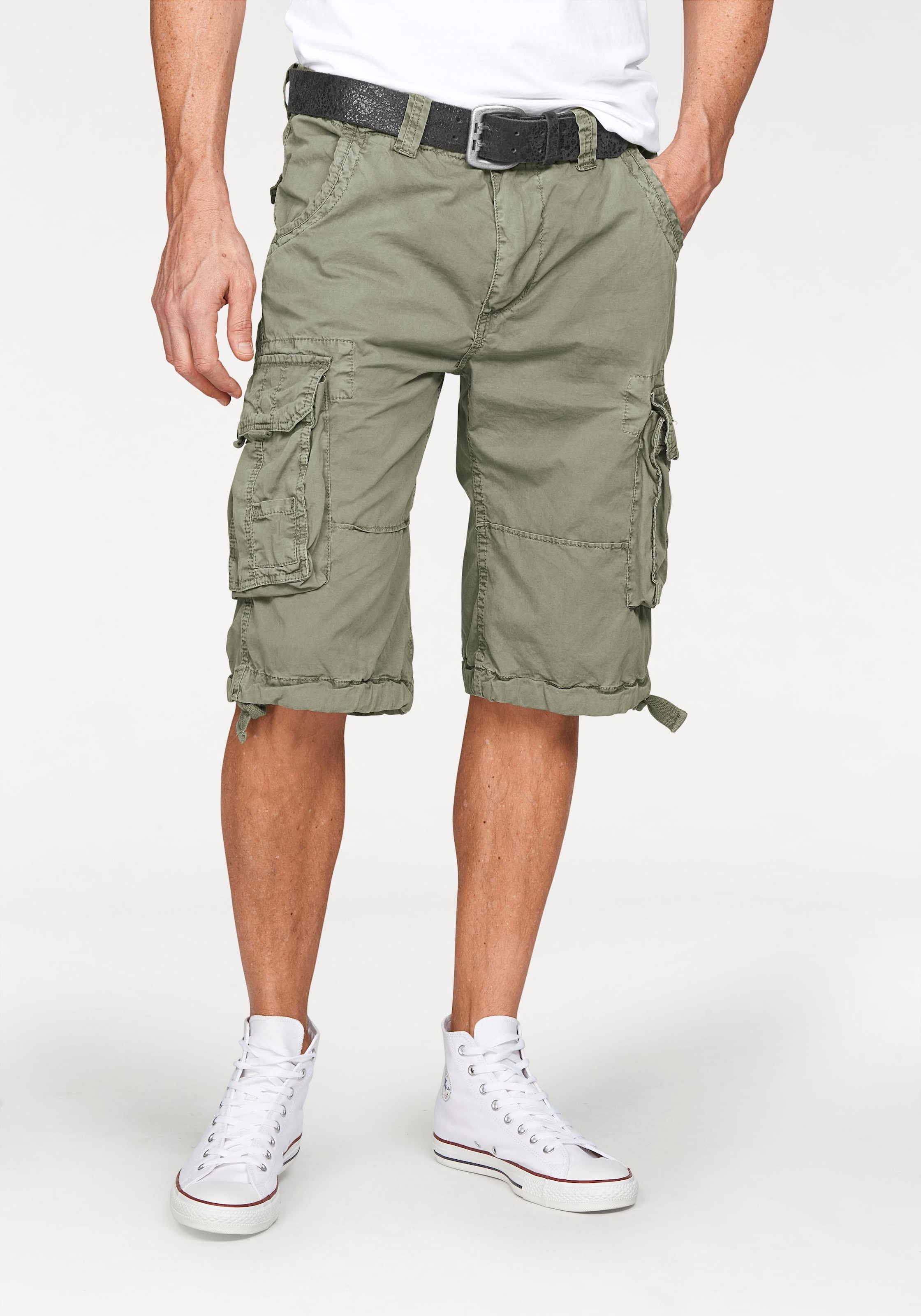 Image of Alpha Industries Cargobermudas »Jet«