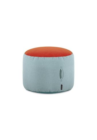 Remember Pouf »Sky, 40 x 55 cm, Grau/Orange« kaufen