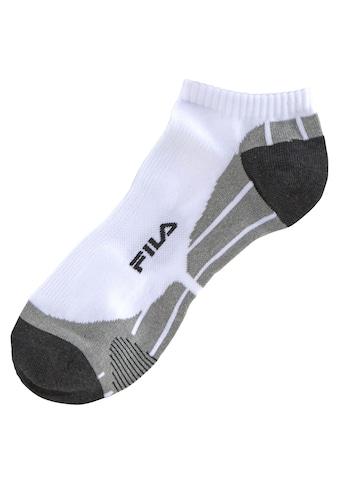 Fila Sneakersocken, (3 Paar), mit eingestricktem Schriftzug kaufen