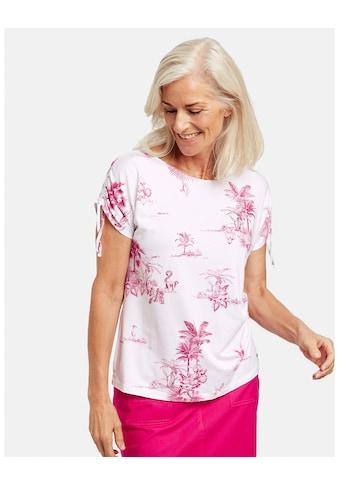 GERRY WEBER T - Shirt 1/2 Arm »Shirt mit Palmenprint« kaufen