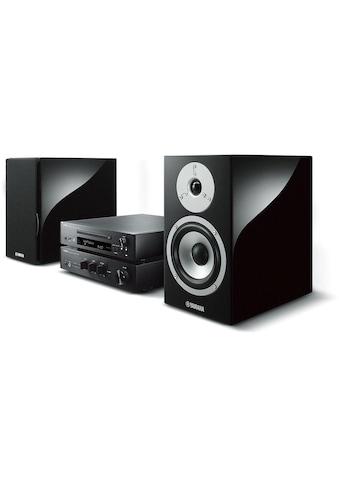 Yamaha Microanlage »MusicCast MCR-N870 DAB Schwarz«, (Bluetooth-WLAN Digitalradio... kaufen