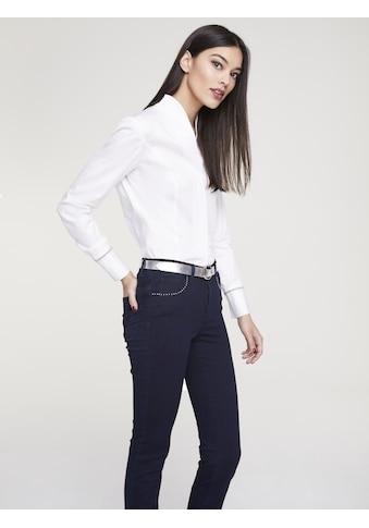 Bluse mit Stehkragen kaufen