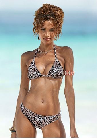 LASCANA Triangel-Bikini-Top »Lexa«, mit Muschelkante kaufen