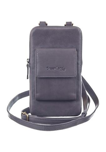 GreenLand Nature Mini Bag »NATURE Soft«, mit aufgesetzter Kartenbörse und RFID-Schutz kaufen