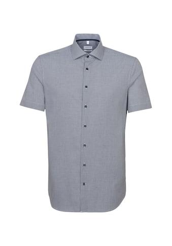 seidensticker Businesshemd »Shaped«, Shaped Kurzarm Kentkragen Karo kaufen