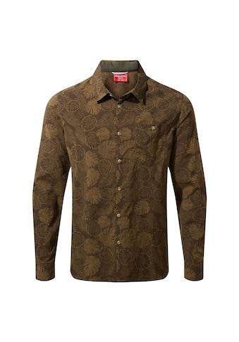 Craghoppers Funktionshemd »Herren Langarmhemd NosiLife Lester gemustert« kaufen
