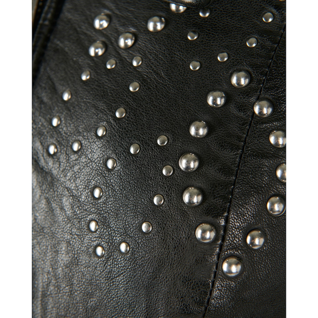 Maze Lederjacke »42020122«, mit kurzem Stehkragen