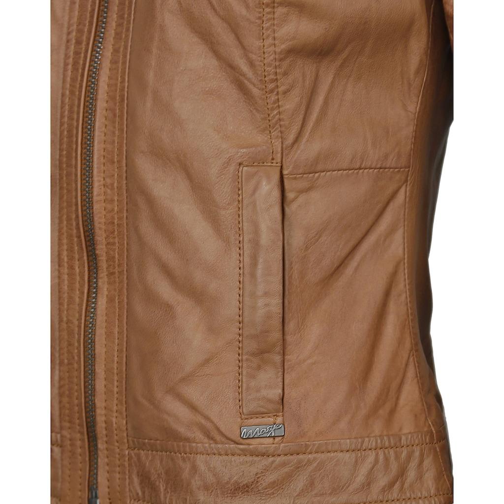 Maze Lederjacke aus feinem Lammleder