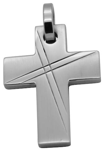 Firetti Kreuzanhänger »Religiös, matt und glänzend, massiv«, Made in Germany kaufen