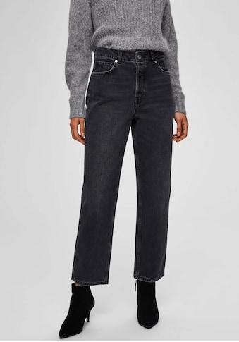 SELECTED FEMME Straight-Jeans »SLFKATE«, aus Denim in Bio-Baumwollqualität kaufen