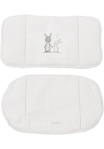 roba® Kinder-Sitzauflage »(1852V) Dekor (168) Fox und Bunny«, (2 tlg.) kaufen