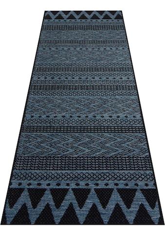 bougari Läufer »Sidon«, rechteckig, 4 mm Höhe, In- und Outdoor geeignet, Flachgewebe kaufen