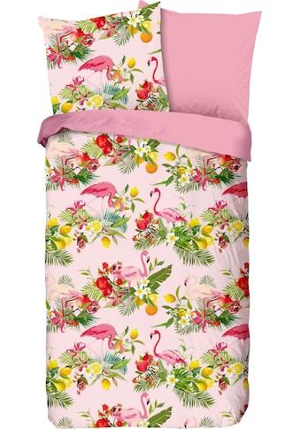 good morning Kinderbettwäsche »Flamingo«, mit Flamingos kaufen